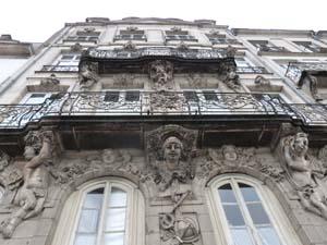 Visite de Nantes du XVIIIe