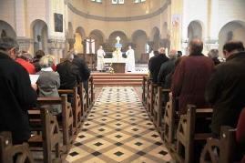 Célébration à l'église Sainte Thérèse de Muzillac
