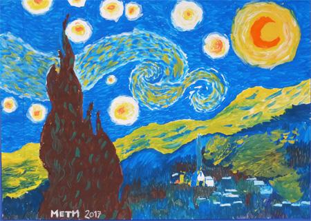 nuit étoilé METM