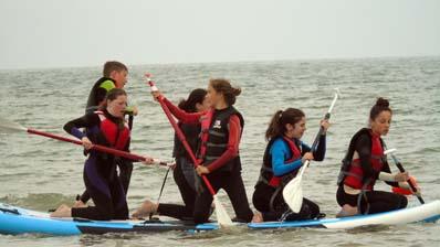 Bouée et paddle