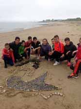 Land Art - Sand Art