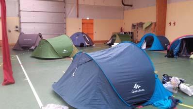 L'installation du camp